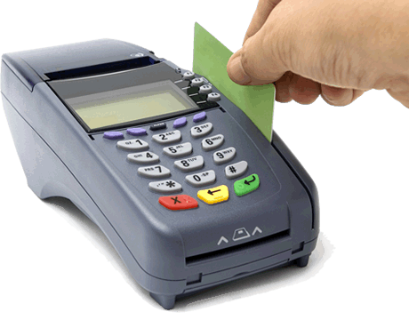 debit card machine
